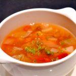 趣味どき ご褒美スープ第4回くず野菜で極上だし ごちそうミネストローネ NHKEテレ