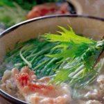 きょうの料理ビギナーズ 「具材2つの肉鍋 豚肉と水菜の鍋」のレシピ【1月14日NHKEテレ】