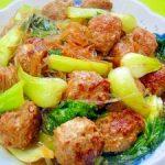 きょうの料理ビギナーズ 「食べごたえあり!のひき肉 肉だんごの中国風煮物」のレシピ【2月5日NHKEテレ】