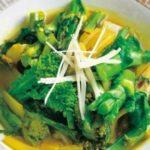 きょうの料理 カワムラケンジ 新たまねぎと菜の花のシンプルカレーのレシピ【3月20日NHKEテレ】