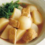 きょうの料理ビギナーズ かぶと厚揚げの煮物のレシピ【4月10日NHKEテレ】